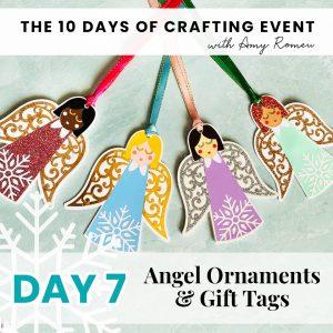 DIY Angel Gift Tags