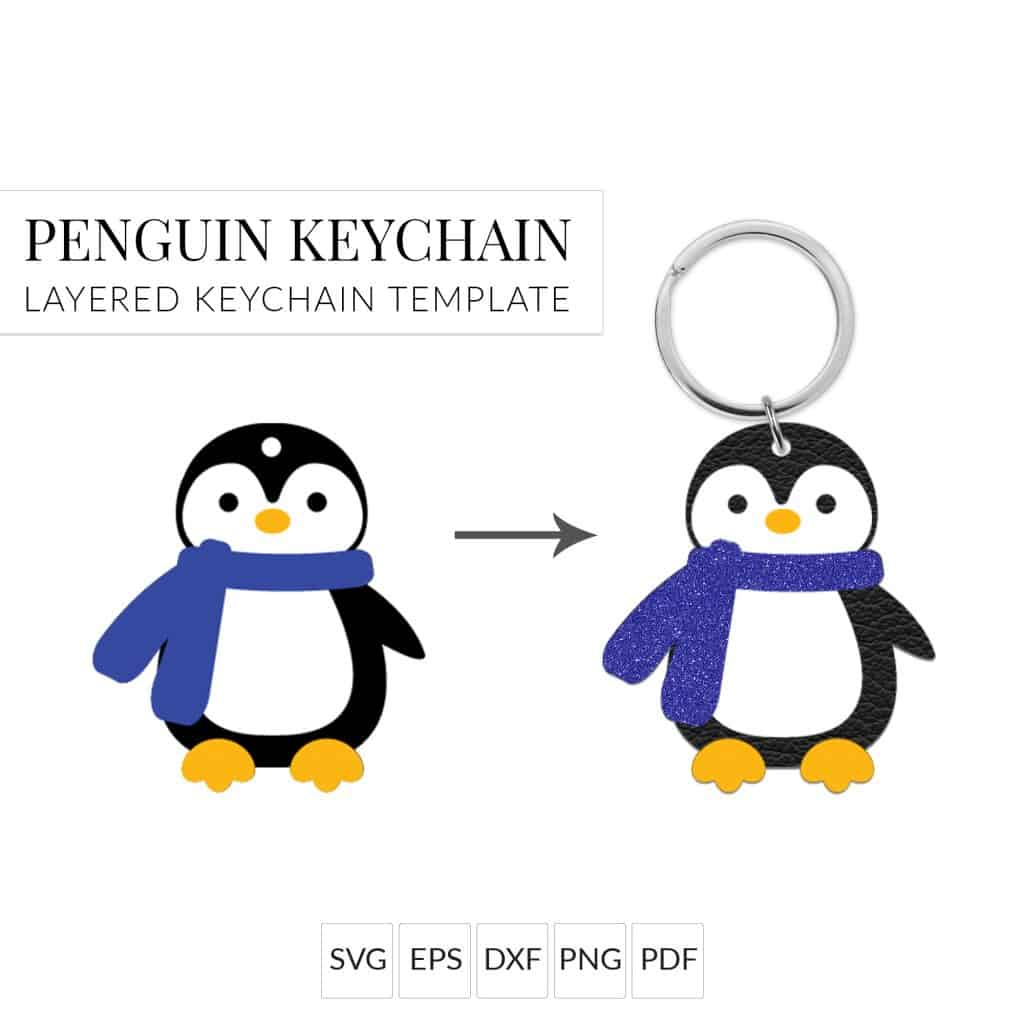 How to Assemble My Penguin Keychain