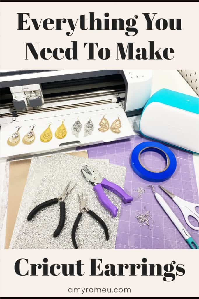 Everything You Need to Make Cricut Earrings