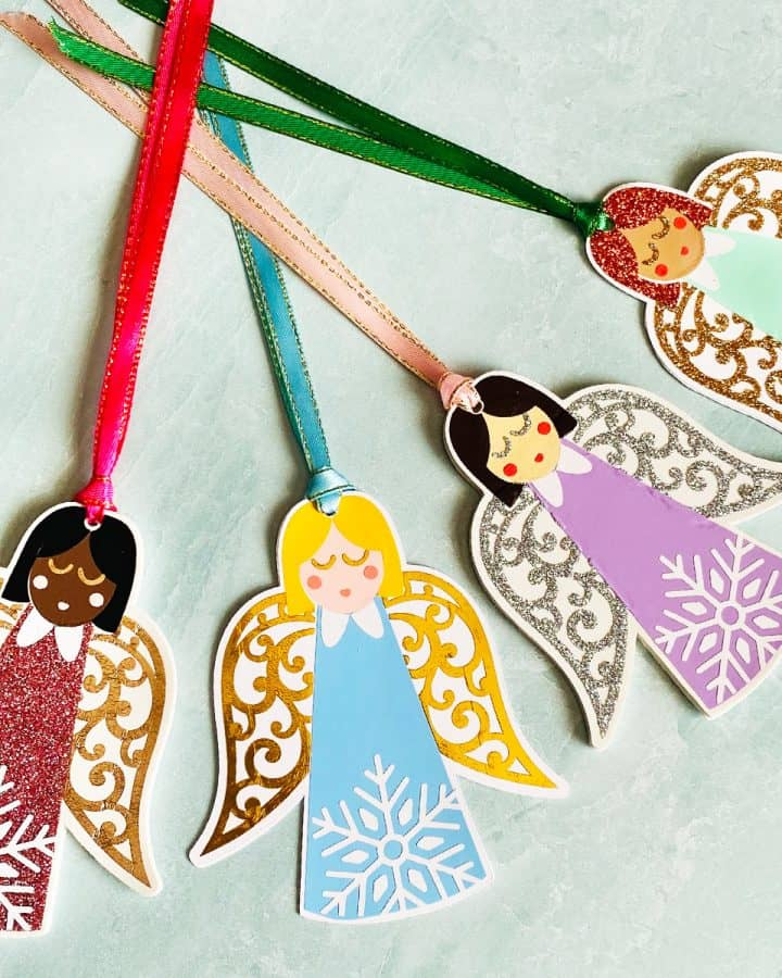 DIY Angel Ornaments and Gift Tags