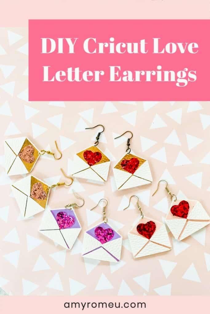 Valentine's Day Love Letter Earrings