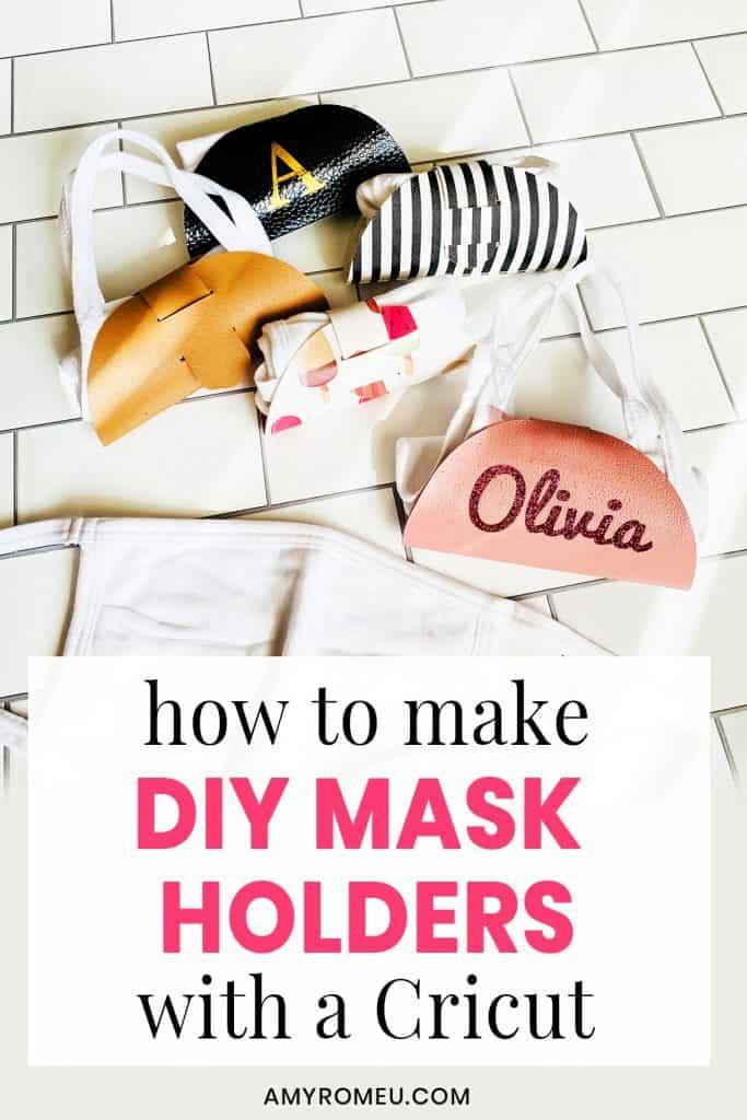DIY Mask Holders tutorial