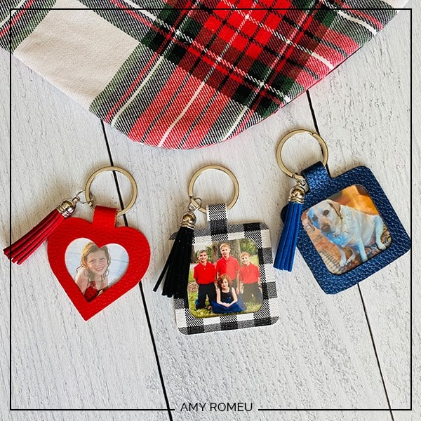 DIY Personalized Photo Keychain