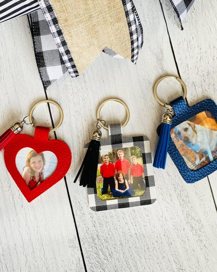 DIY Personalized Photo Keychains