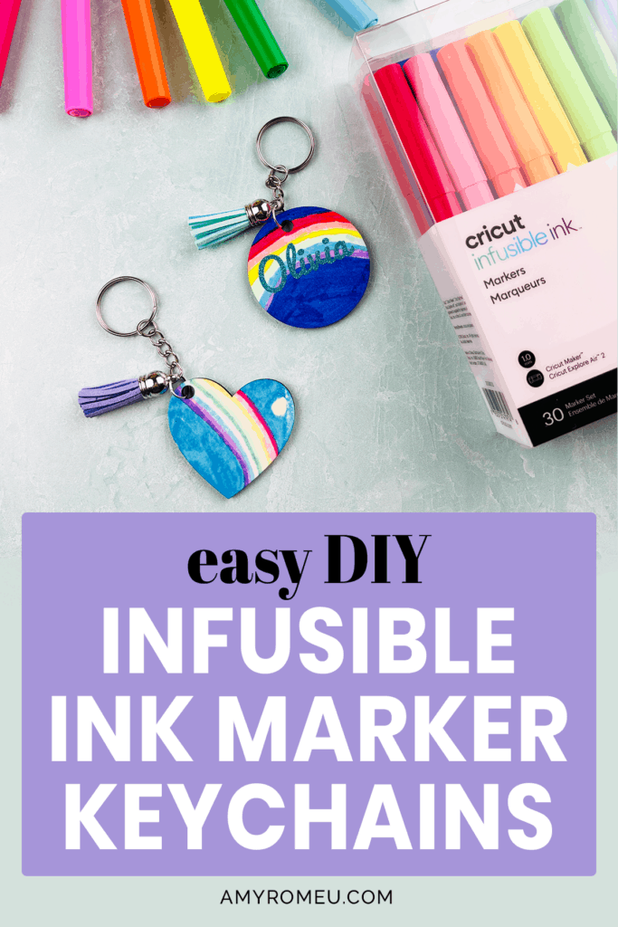 Cricut Infusible Ink Markers and DIY Keychains
