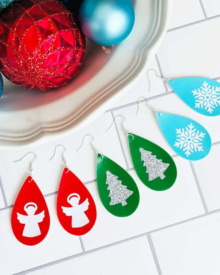 Easy Holiday Earrings Christmas Earring DIY