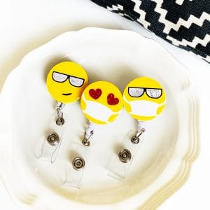 emoji badge reel covers