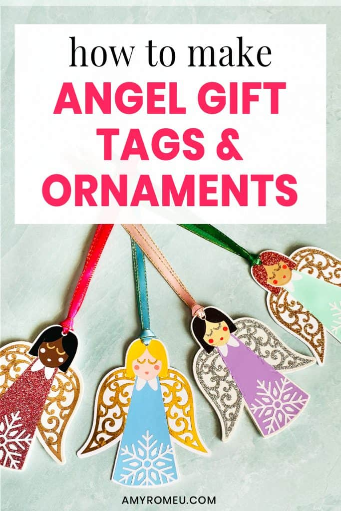 Christmas angel ornament DIY