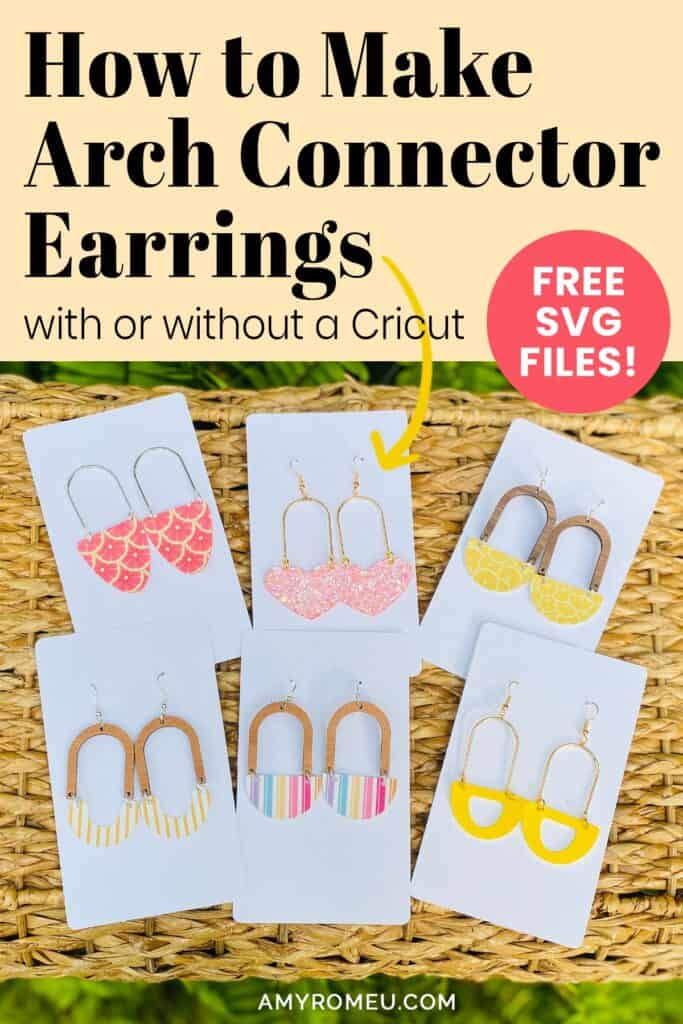 trendy arch connector earrings