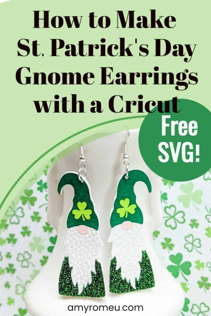 St. Patrick's Day Gnome Earrings