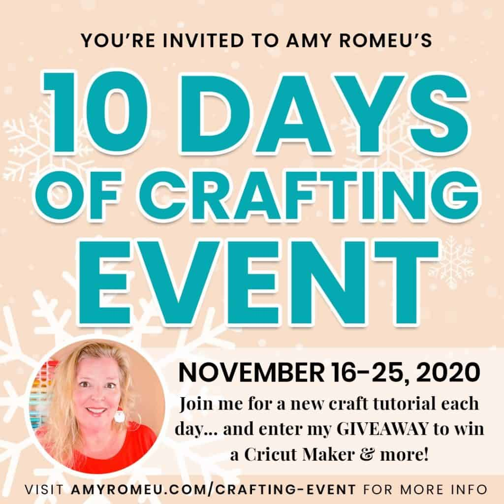 Amy Romeu's 12 Days of Crafting