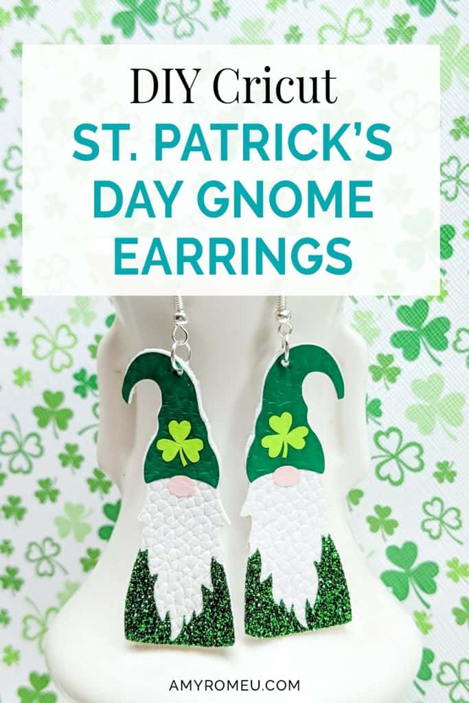 How to Make St. Patrick's Day Gnome Earrings