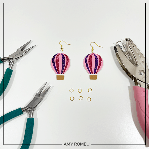 tools needed for hot air balloon earrings