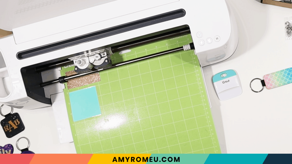 cutting permanent vinyl with the Cricut Maker