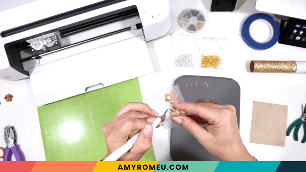 weeding vinyl layer