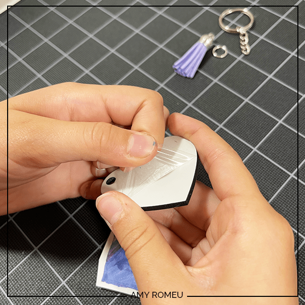 peeling sublimation blank transfer sheet