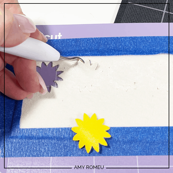 checking faux leather sunflower earrings cut