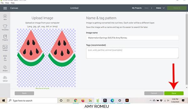 cricut design space screenshot design upload preview