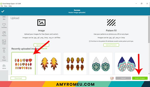 cricut design space uploading SVG