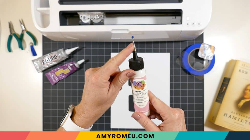 art glitter glue with precision tip