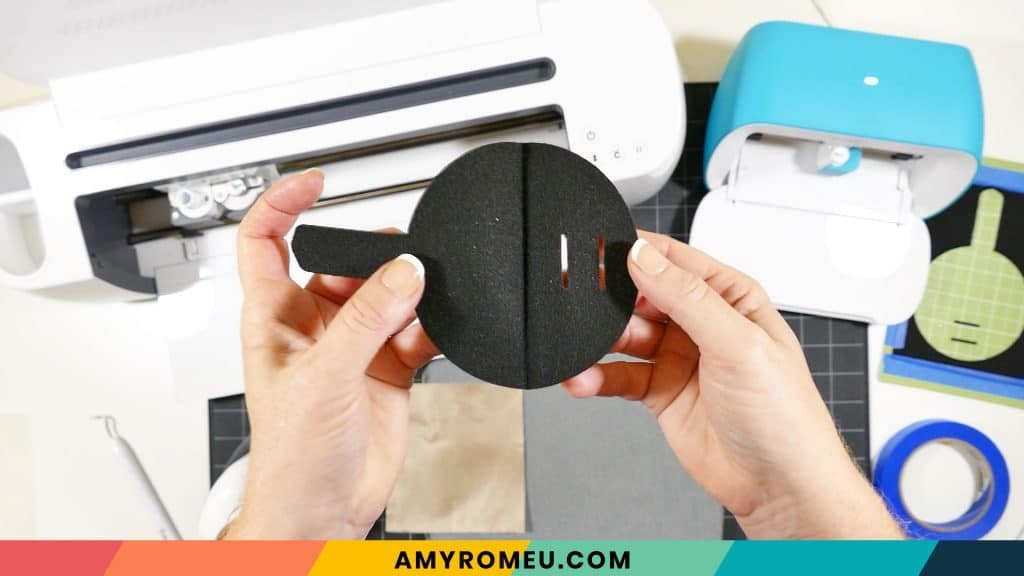 pressed seam mask holder