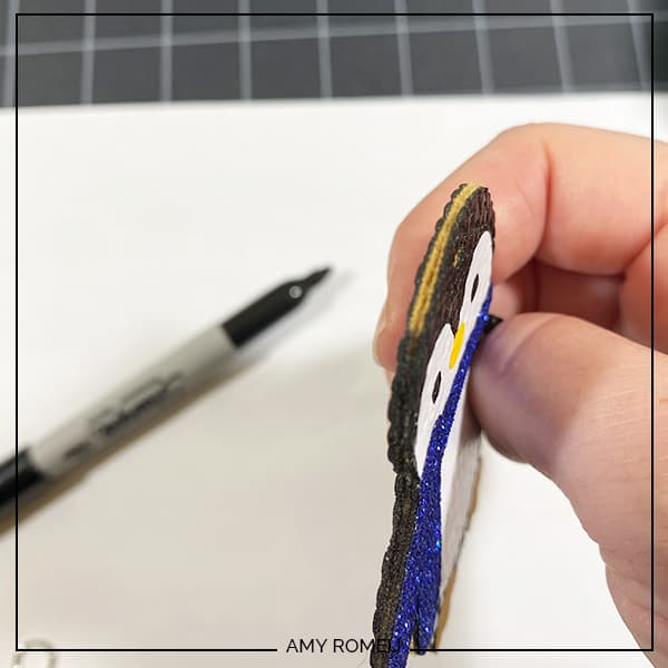 coloring edges with a sharpie