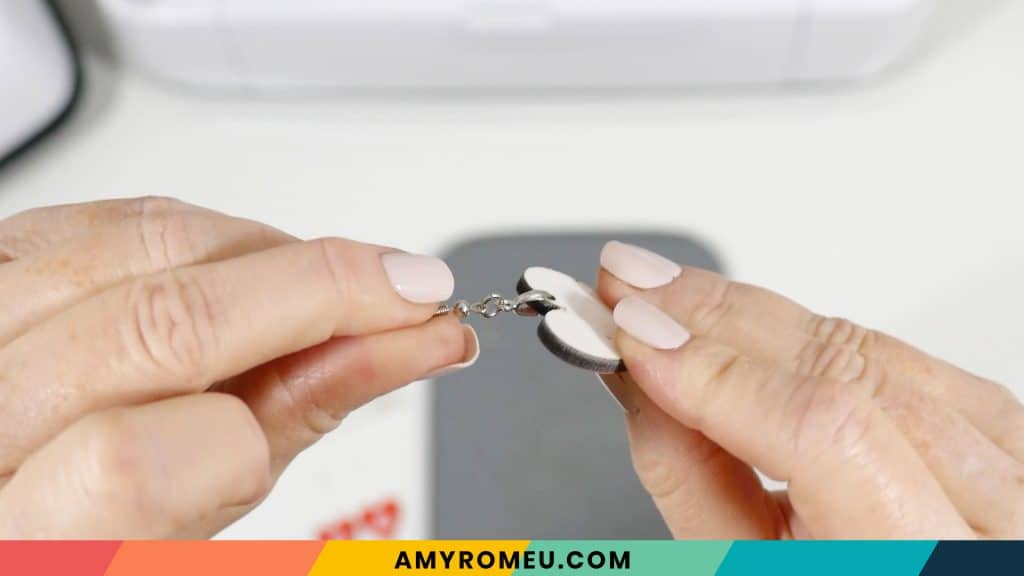 attaching earring hooks to sublimation earring blanks