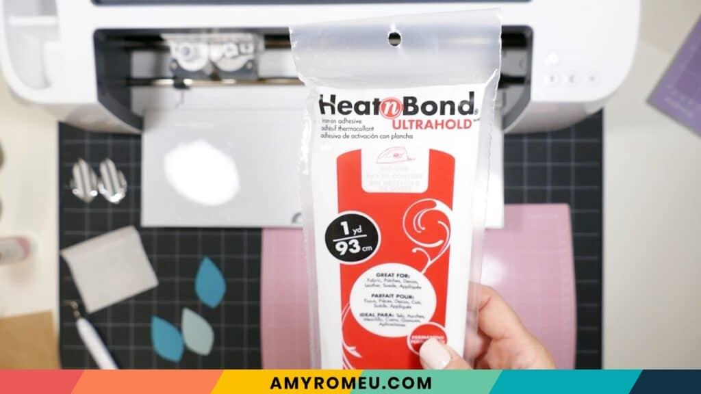 using Heat n Bond for faux leather earrings