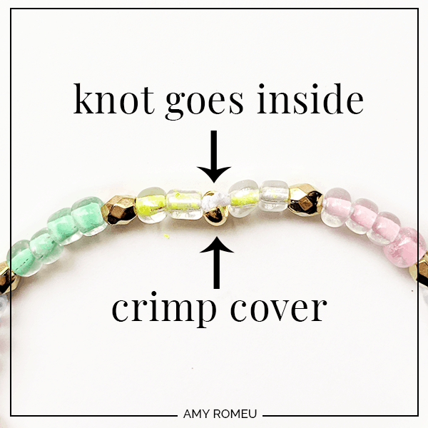 How To Make Stretch Bracelets That Won T Break Amy Romeu