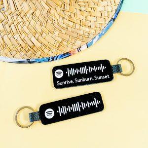 Spotify Code Keychain DIY Cricut Tutorial