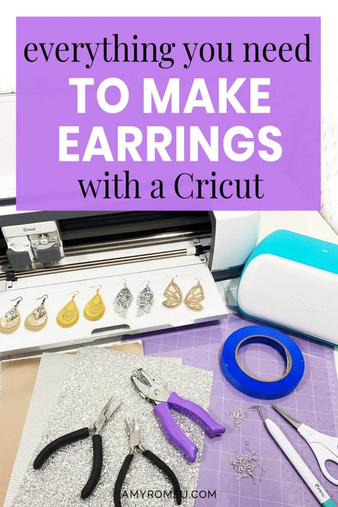 What Do You Need to Make Earrings with a Cricut