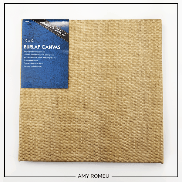 burlap canvas for crafting