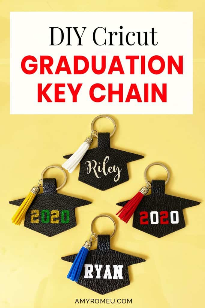 How To Make A Personalized Graduation Keychain with Tassel