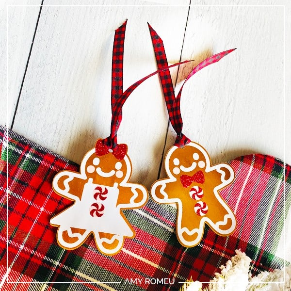 gingerbread cookie gift tags