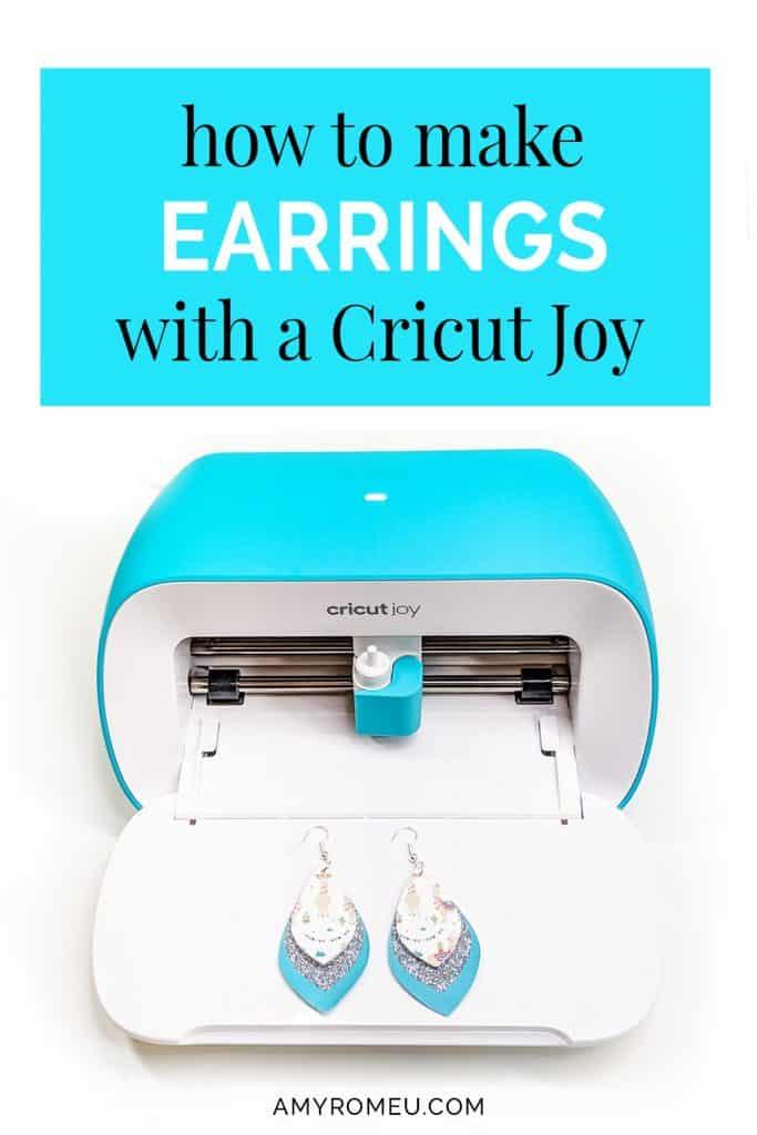 how to make cricut joy earrings
