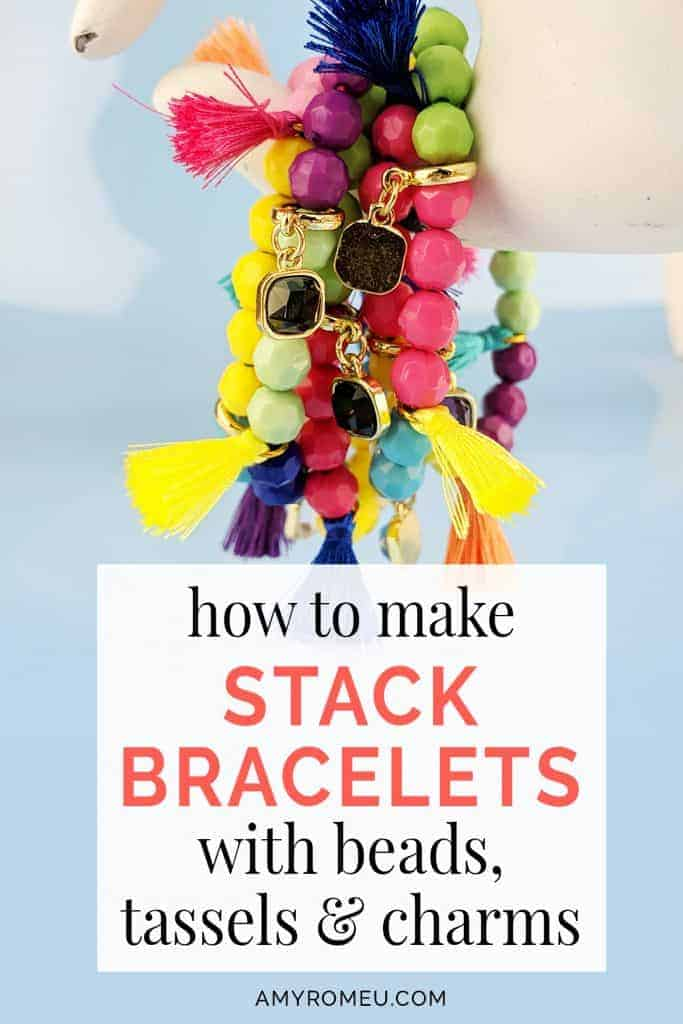how to make stackable bracelets