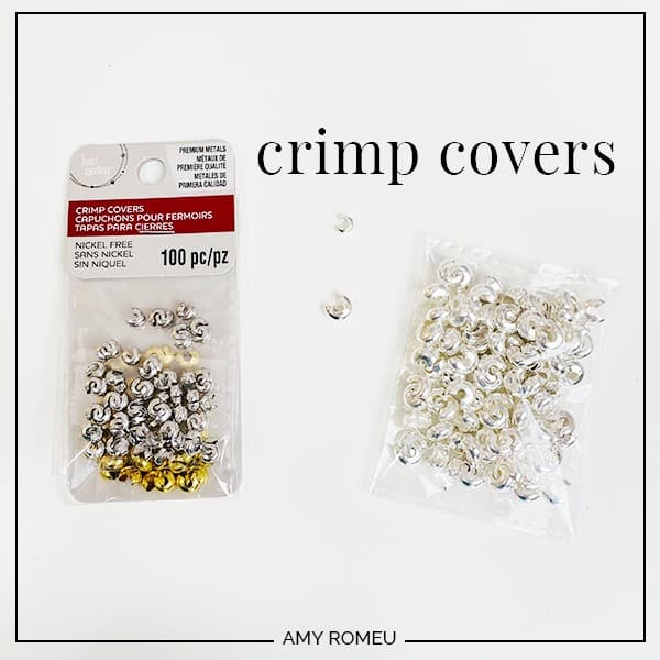 crimp beads in store packaging