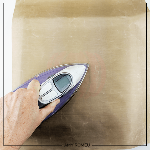 ironing HTV