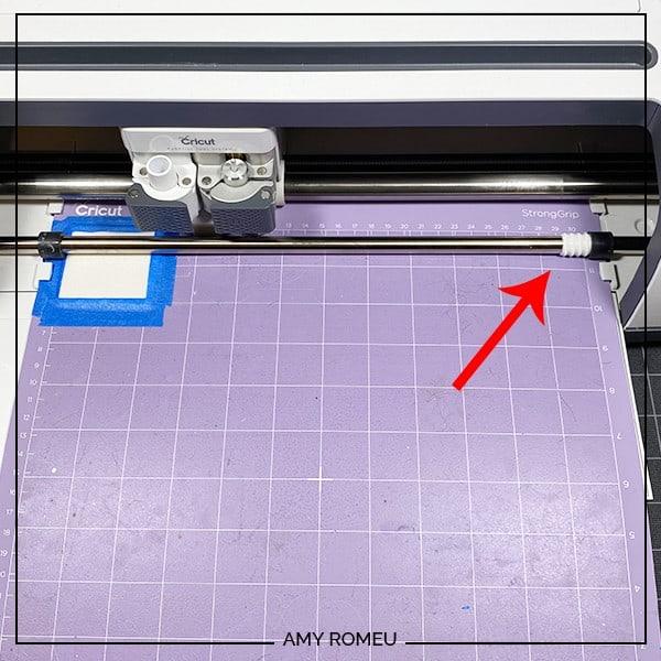 cricut cutting purple cutting mat